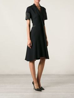 Victoria Beckham Wrap Style Dress - The Corner Berlin - Farfetch.com