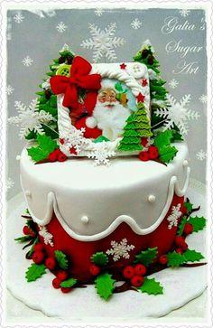 aqui una idea para decorar la navidad de dulces riquisimos y con el toque imprescindible para estas epocas