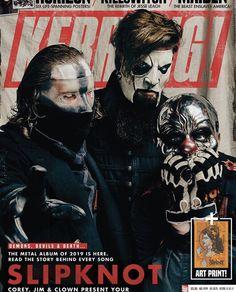 Magazines and Newspapers Slipknot Corey Taylor, Chris Fehn, Craig Jones, Mick Thomson, Sid Wilson, Canon 700d, Metal Albums, Tonight Alive, Rock Groups