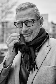 Jeff Goldblum the star of the famous Independence Day Movie wearing Tom-Ford-FT5288 glasses