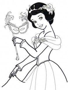 Colorear Elsa Y Anna Las Dos Princesas De La Pelicula Frozen El