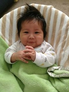 Alejandro Mexican Chinese Baby Cute Mixed Asian Baby