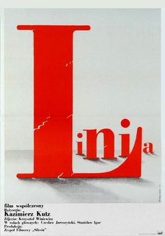 The Art of Poster - The largest collection of Polish posters Polish Films, Polish Posters, Alphabet City, Communication Art, Poland, Packaging Design, Typography, Graphic Design, Film Director