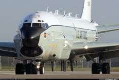 Boeing RC-135U. My baby in the 70's all gussied up for the 21st Century.