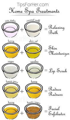 10 Useful Body Care Tips and Tricks You Probably Didn't Know About These home spa beauty treatments are sure to put you in an uplifting and relaxed mood. Rose Water + Coconut Milk = Relaxing Bath Honey mixed with olive oil makes a skin moisturizer that is Beauty Care, Beauty Skin, Diy Beauty, Homemade Beauty, Beauty Ideas, Beauty Secrets, Home Beauty Tips, Beauty Guide, Beauty Tips For Skin