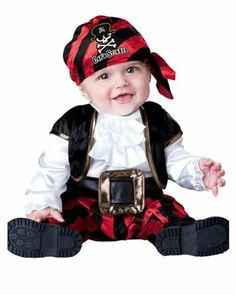 Cap'n Stinker Pirate Infant / Toddler Costume Size 12-18 Months by In Character Costumes. $25.99