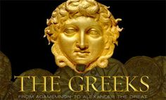 "Featuring over 500 ancient treasures, many of which exhibited for the first time outside Greece, ""The Greeks – Agamemnon to Alexander the Great"" show… Ancient Egyptian Art, Ancient Aliens, Ancient Greece, European History, American History, Alexandre Le Grand, Tutankhamun, Alexander The Great, Anglo Saxon"