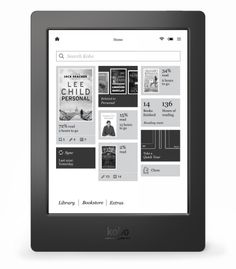 Kobo Aura H2O is the first premium eReader to have a waterproof* and dustproof design that allows you to take it worry-free from the beach, to the bath, to your bed. Plus, with up to 2 months of battery life, you have the freedom to keep reading, wherever you go. So if you drop it in the bath or accidentally spill a drink on it, your Kobo Aura H2O will still work like new. Just use the included drying cloth to dry the screen, so you can get back to reading**. (*IP67 Certified. Waterproof…