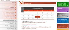 Calendario de eventos: encontrarás todos los cursos y talleres de la Biblioteca Universitaria de Granada. #bibliotecaugr #calendario #eventos #cursos