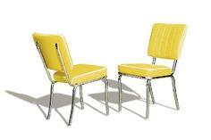 Bel Air Stuhl 8 Farben Retro Fifties CO-25 50er Jahre Diner Stühle Chrom Art Deco, Farbe:Yellow BelAir http://www.amazon.de/dp/B007GMCF12/ref=cm_sw_r_pi_dp_p9A4ub03T2YFP