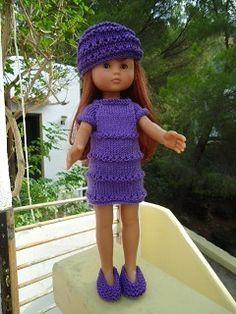 Tuto pour poupée chéries de corolle... robe droite