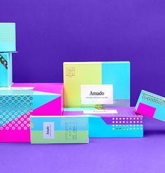 confectionery box colourful rebrand