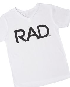 Rad Kids' Graphic T-shirt, , Clothing -- Cents Of Style - 1