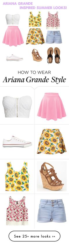 """Ariana Grande Inspired Summer Looks!"" by kerlylynce on Polyvore"
