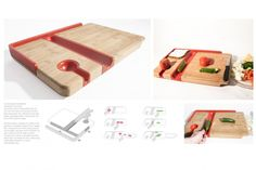 ONEder board - cutting board suitable for cutting with one hand Butter Spread, Joseph Joseph, Food Preparation, Disability, Kitchen Tools, Blind, Cutting Board, Workshop, Objects