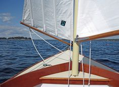 The Paine 14 – A Herreshoff – inspired daysailor – Chuck Paine Yacht Design LLC Sailing Dinghy, Sailing Ships, Spirit Yachts, Yacht Design, Sailboat, Inspired, Sailing Boat, Sailboats, Sailing Yachts