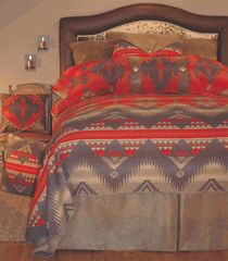 Save - on all Western Bedding and Comforter Sets at Lone Star Western Decor. Your source for discount pricing on cowboy bed sets and rustic comforters. Southwestern Bedding, Southwest Decor, Southwest Style, Southwest Bedroom, Southwestern Decorating, Rustic Comforter, Comforter Sets, Native American Decor, Native American Bedroom