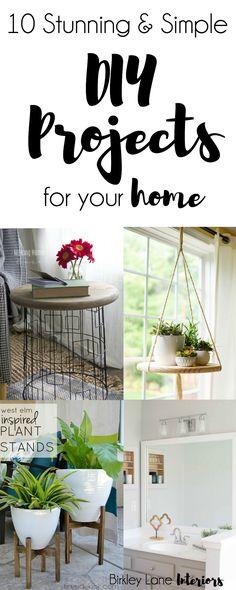 DIY Home Decor, DIY