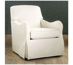 Elsie Swivel Glider Club Chair  $729.00 | Ballard Designs