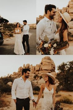 Joshua Tree Wedding // Desert Elopement // Boho We Wedding Photography Poses, Wedding Photography Inspiration, Wedding Poses, Wedding Photoshoot, Wedding Shoot, Couple Photography, Wedding Makeup, Desert Photography, Photography Lighting
