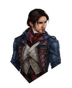 Assassins Creed Memes, Assassins Creed Unity, Arno Victor Dorian, Assassian Creed, Tesla Lighter, Videogames, Gaming, Sketch, Fandom