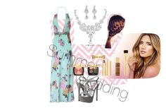 """summer wedding"" by lisreyna on Polyvore featuring Bare Escentuals and Betsey Johnson"