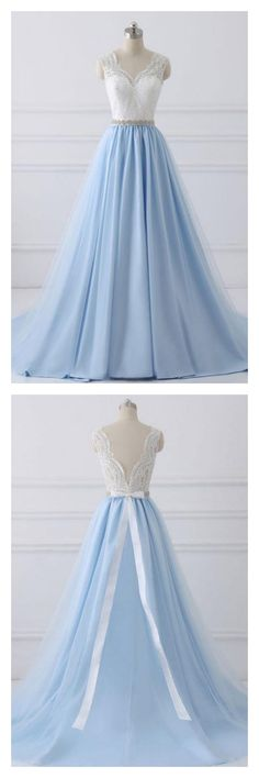 prom dresses 2018, prom dresses 2017, prom dresses long, prom dresses long cheap simple, prom dresses for teen, prom dresses for freshman, prom dresses for juniors, evening gowns,prom dresses long with lace,  sky blue prom dresses ,prom dresses long a line,#SIMIBridal #promdresses