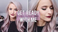Get ready with me for London Fashion Week Autumn Winter 2015 with a dark lip and new curling iron from Nume! Paid Advertorial but in love with this curler. I...