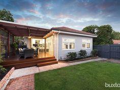 House Cladding, Facade House, House Facades, Red Roof House, House Deck, Facade Design, Exterior Design, House Design, Cabana