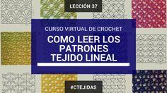 Curso de Crochet: Cómo leer los diagramas de crochet - Tejido Líneal