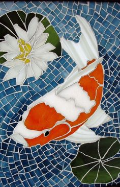 Mosaic fish | Bilafond's Randomness