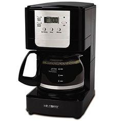 Mr. Coffee JWX3-RB 5-Cup Programmable Coffeemaker $11.25