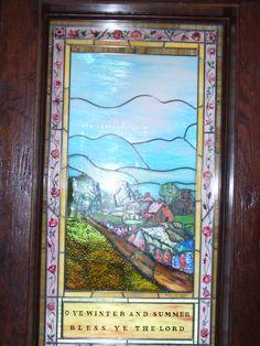 Window in Chapel of Transfiguration  Tetons