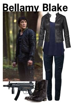Bellamy Blake by xylona on Polyvore featuring SELECTED, Fat Face, Steve Madden, cw, the100 and BellamyBlake