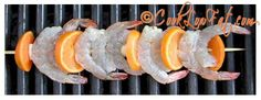 Easy marinated shrimp or prawns. Get the great marinade recipe by clicking on the pic.
