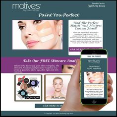 ✅ Check out our newest marketing page design. Need to market your cosmetic or skincare on the Internet?  💻 Start marketing the smarter way.  Go to www.YourMarketingPage.com for details.