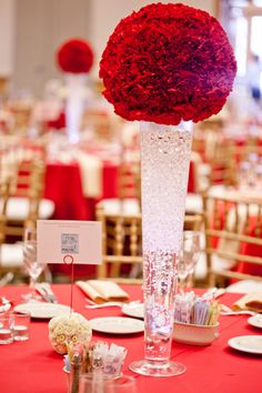 Carnation centerpieces: Luscious and economical. Carnation Centerpieces, Pearl Centerpiece, Candle Centerpieces, Centerpiece Decorations, Carnations, Wedding Centerpieces, Wedding Decorations, Elegant Centerpieces, Carnation Wedding