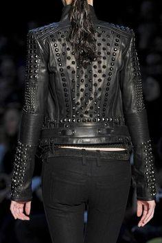 Jaqueta de couro - Moda, beleza ... y otras cositas mas!