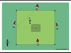 4v1 Passing Game w Target - Top Soccer Drills