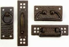 craftsman style cabinet hardware | ... cabinet hardware is from Craftsman Hardware in Marceline, Missouri