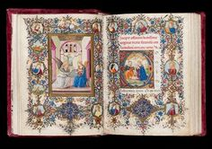 Book of Hours c. 1480 – c. 1490 Illuminated by Vante di Gabriello di Vante Attavanti (active c. 1480 – 1485) Florence, Italy Book of Hours…