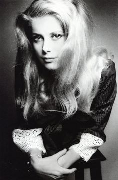 Catherine Deneuve photographed by Jeanloup Sieff, 1965