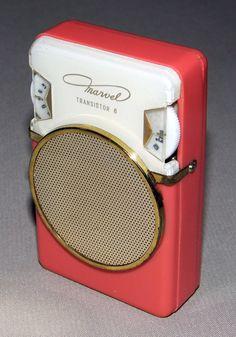 Vintage Marvel 6-Transistor Radio, Model 6YR-15A. Made in Japan, Circa 1961