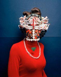 Marie Rime . Change your face, wear a mask * Design Catwalk