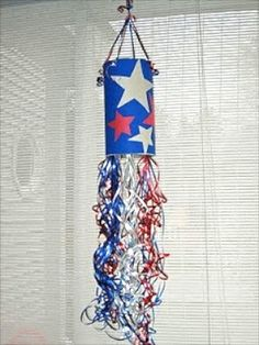 Fun windsock for the 4th of July