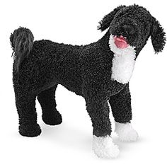 @Overstock - The warm and fuzzy personality of this plush Portuguese water dog from Melissa & Doug will earn your affection. This stuffed animal offers a quality construction and attention to lifelike details.http://www.overstock.com/Sports-Toys/Melissa-Doug-Plush-Portuguese-Water-Dog-Stuffed-Animal/6448374/product.html?CID=214117 $43.13