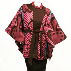 Basotho blankets, a southern Africa winter mainstay, have been re-fashioned into outwear. South African Fashion, African Fashion Designers, African Print Fashion, African Attire, African Wear, African Women, African Style, Seshoeshoe Designs, Cape Designs