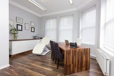 Botox Fillers & Non-Surgical Treatments In Manchester Medical Office Decor, Botox Fillers, Aesthetic Clinic, Pharmacy Design, Hospital Design, Simple Aesthetic, Clinic Design, Treatment Rooms, Beauty Room