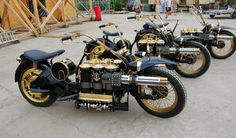 steampunk-motorcycles