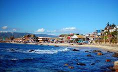 Caleta Horcón, Comuna de Puchuncaví, Valparaíso, Chile la cuidad de los Hippies y de la central de de pescadores